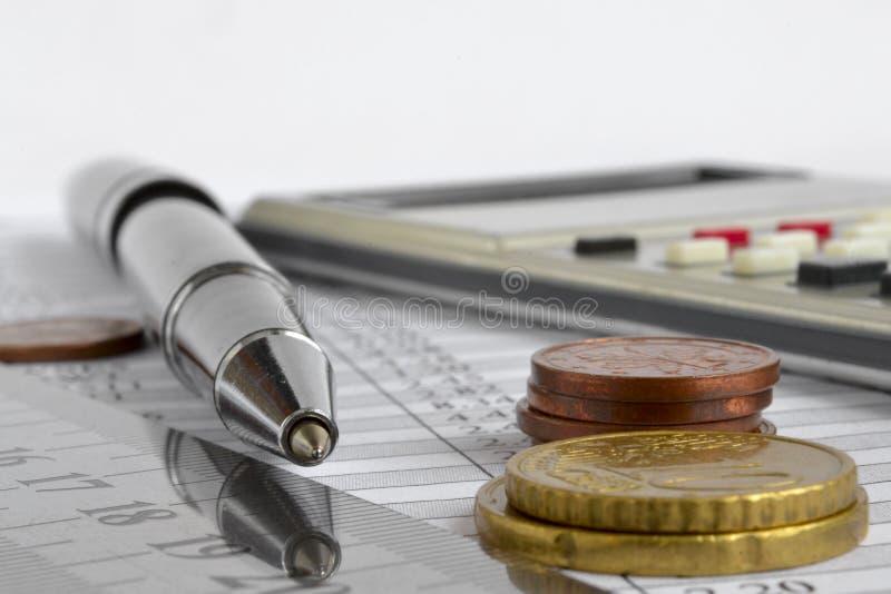 Fond financier images libres de droits