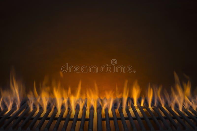 Fond flamboyant de gril de barbecue photo stock