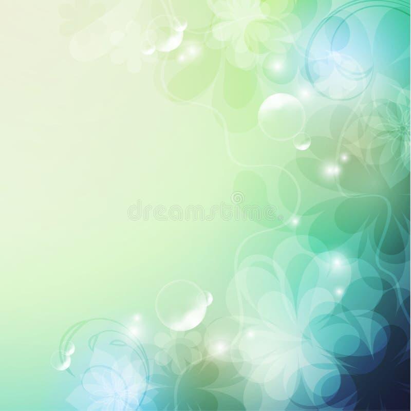 Fond floral élégant, photo libre de droits