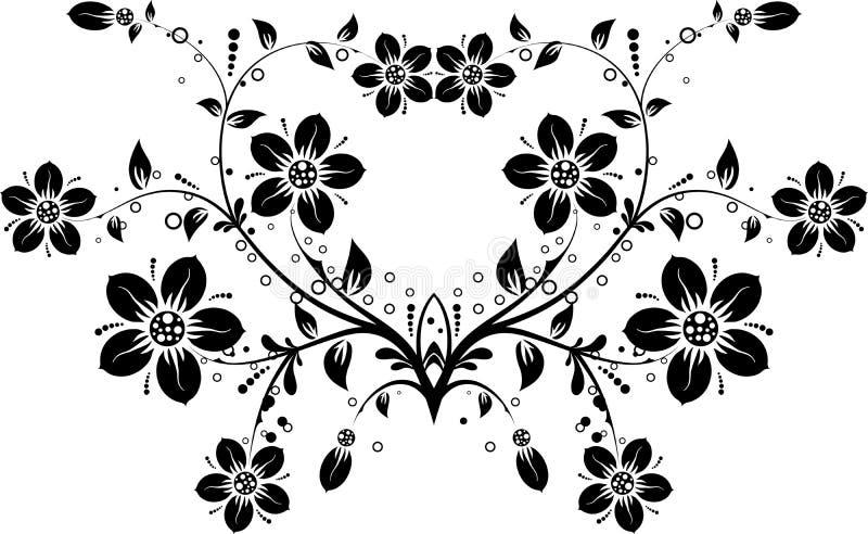 Fond floral,   illustration libre de droits
