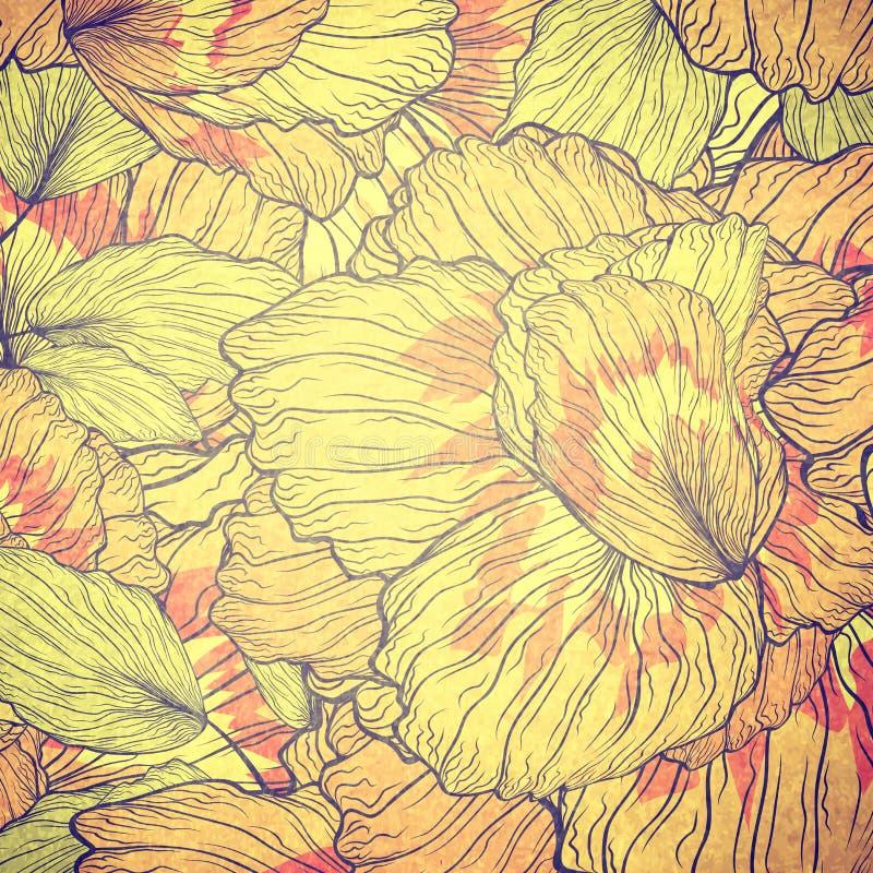 Download Fond floral illustration stock. Illustration du nature - 76089152