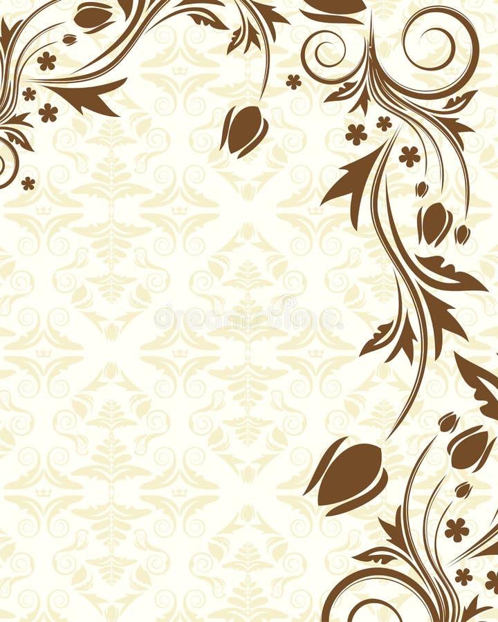 Download Fond floral illustration de vecteur. Illustration du antiquité - 8651535
