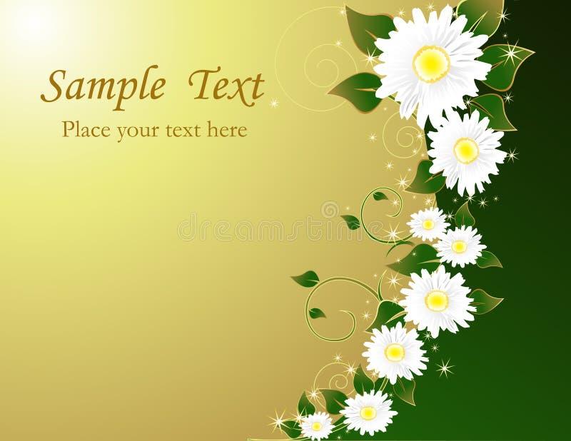 Download Fond floral illustration de vecteur. Illustration du centrale - 8666473
