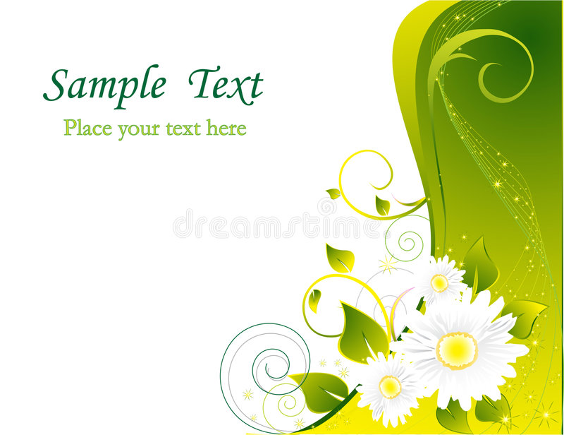 Download Fond floral illustration de vecteur. Illustration du lame - 8666989