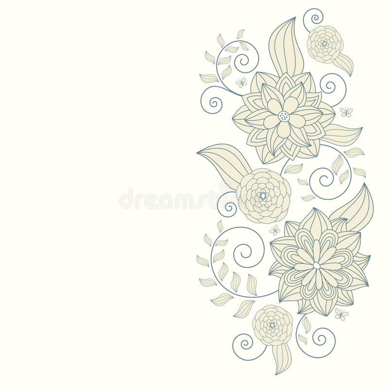 Fond floral abstrait photo stock