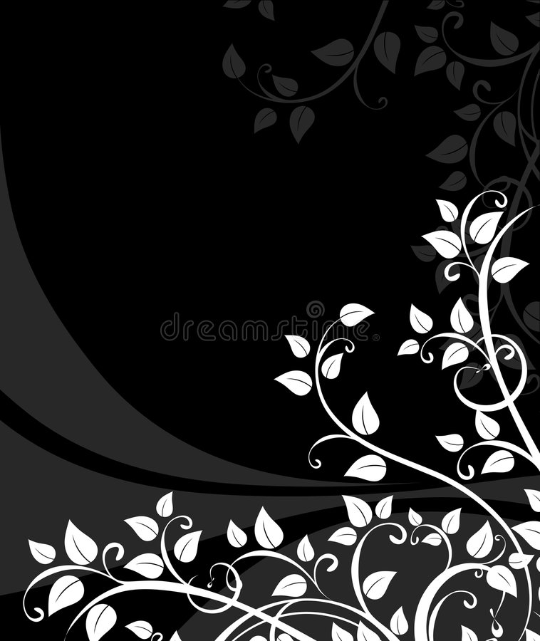 Fond floral abstrait illustration de vecteur
