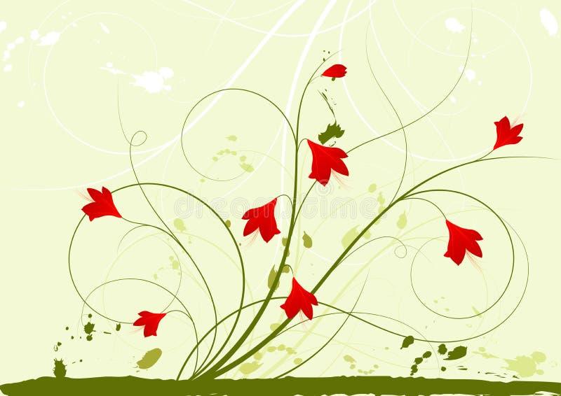 Fond Floral Abstrait Image libre de droits