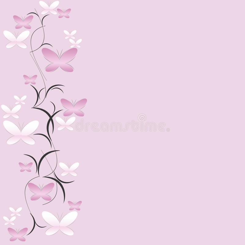 Fond floral avec des guindineaux photographie stock libre de droits