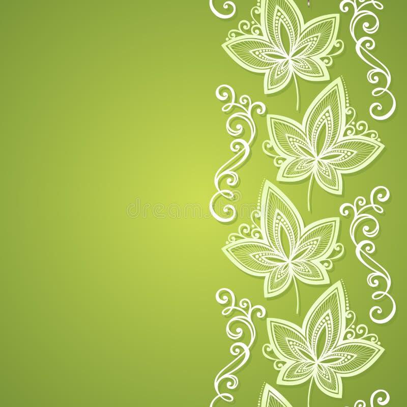 Fond floral coloré par vecteur illustration libre de droits
