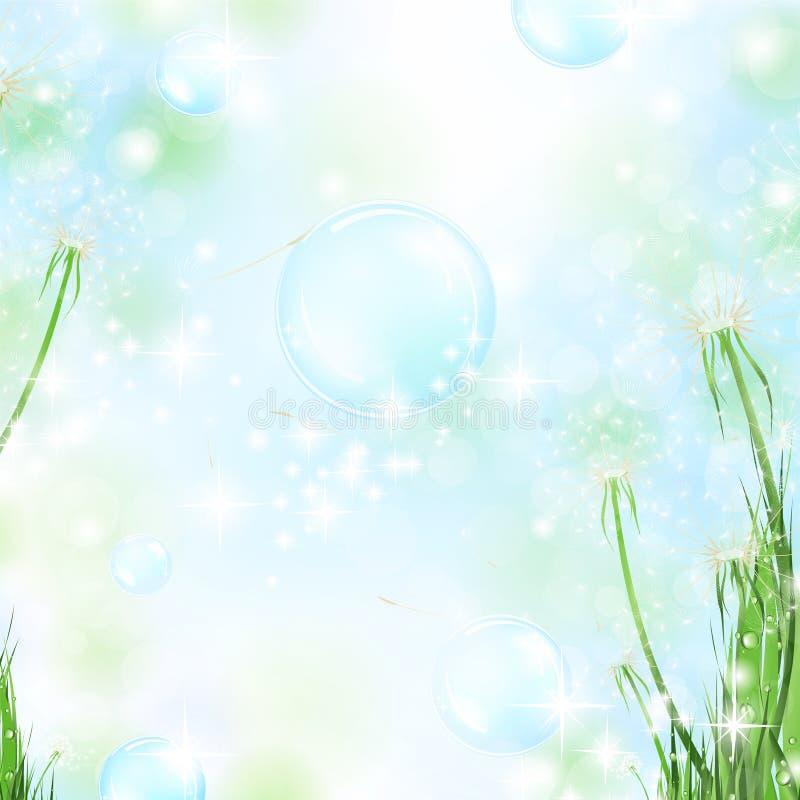 Fond floral d'air illustration libre de droits