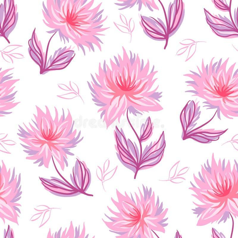 Fond floral d?coratif illustration de vecteur