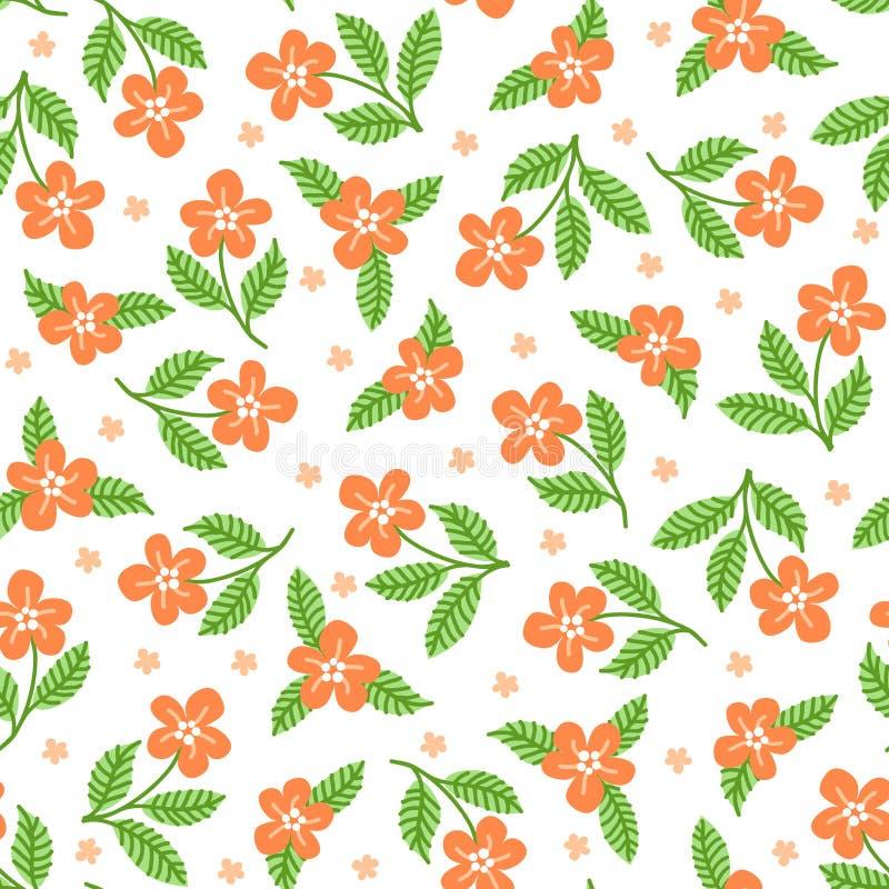 Fond floral d?coratif illustration libre de droits