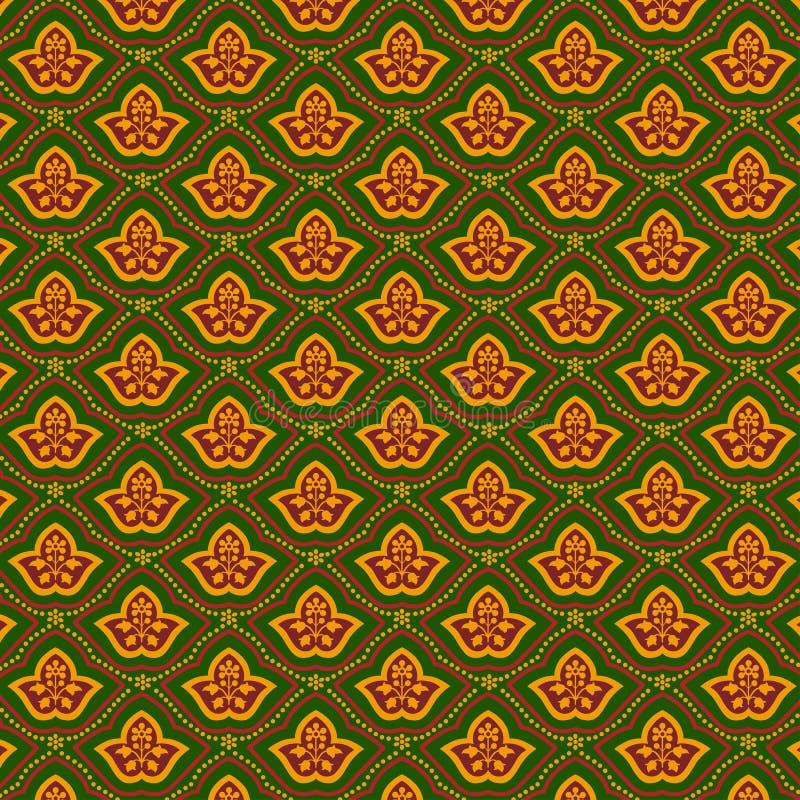 Fond floral de cru. illustration de vecteur