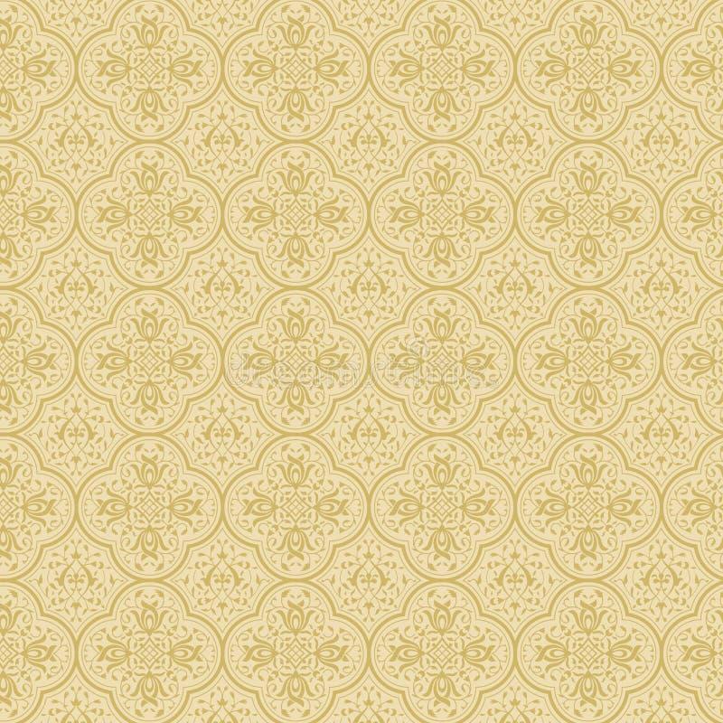 Fond floral de cru. illustration libre de droits