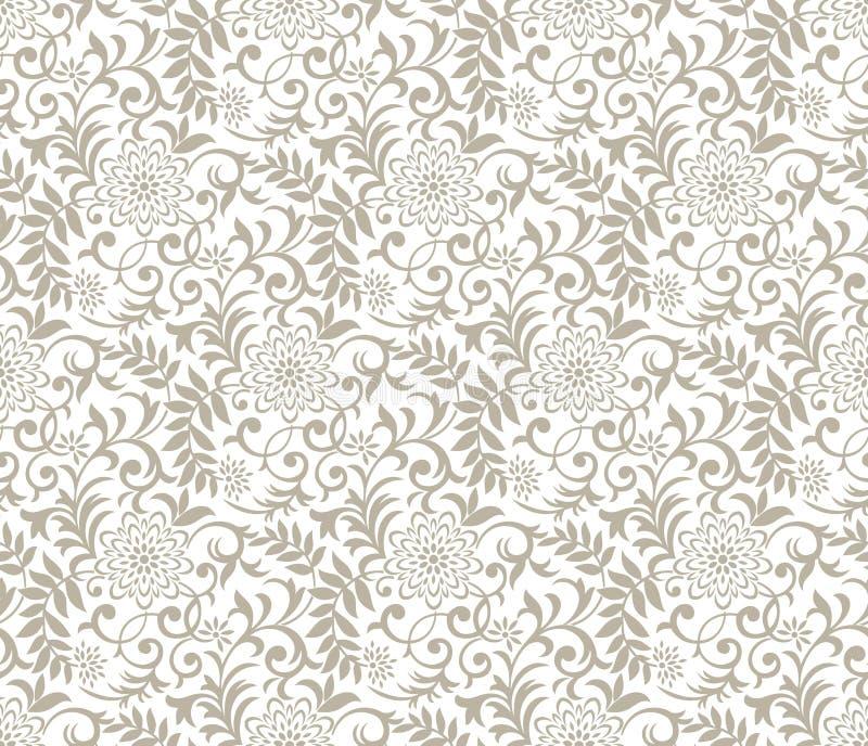 Fond floral de fantaisie sans couture illustration libre de droits