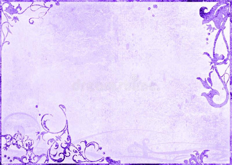 Fond floral de type illustration libre de droits