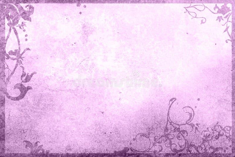 Fond floral de type illustration stock