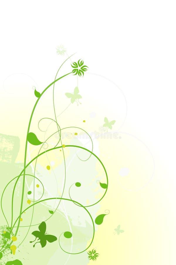 Fond floral de vecteur illustration de vecteur