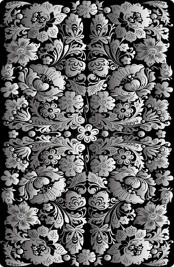 fond floral de vecteur image stock