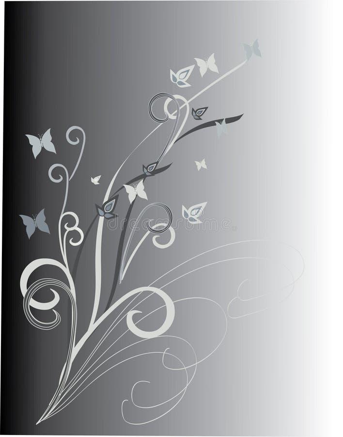 Fond floral de Vetor illustration libre de droits