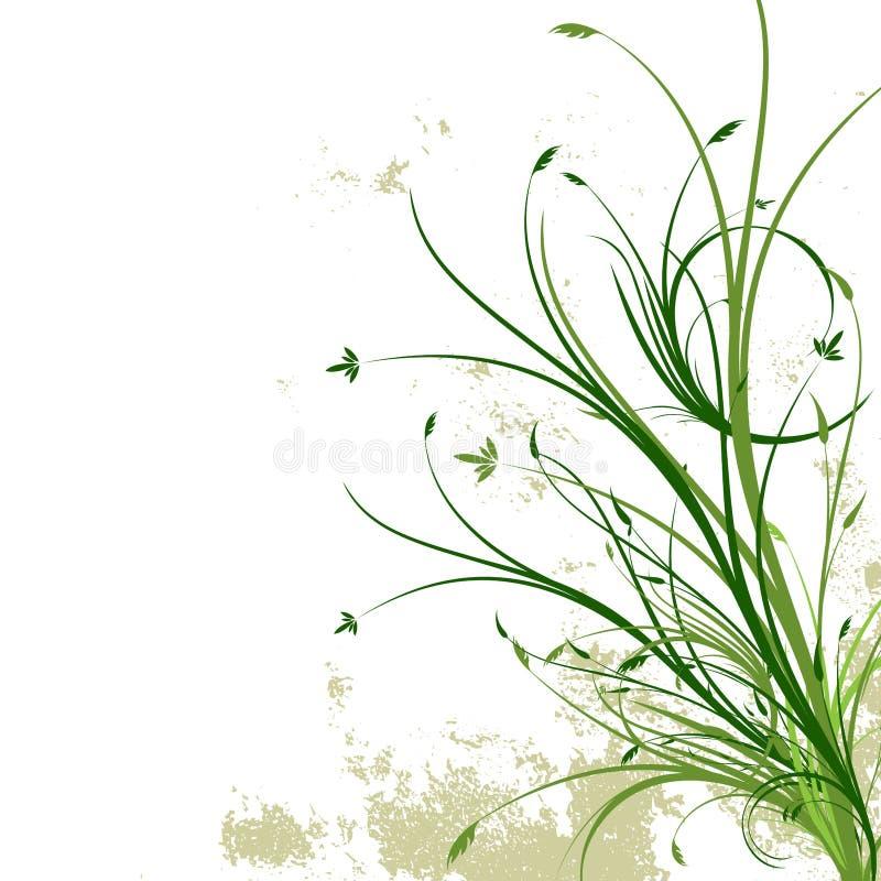 Fond floral grunge illustration de vecteur