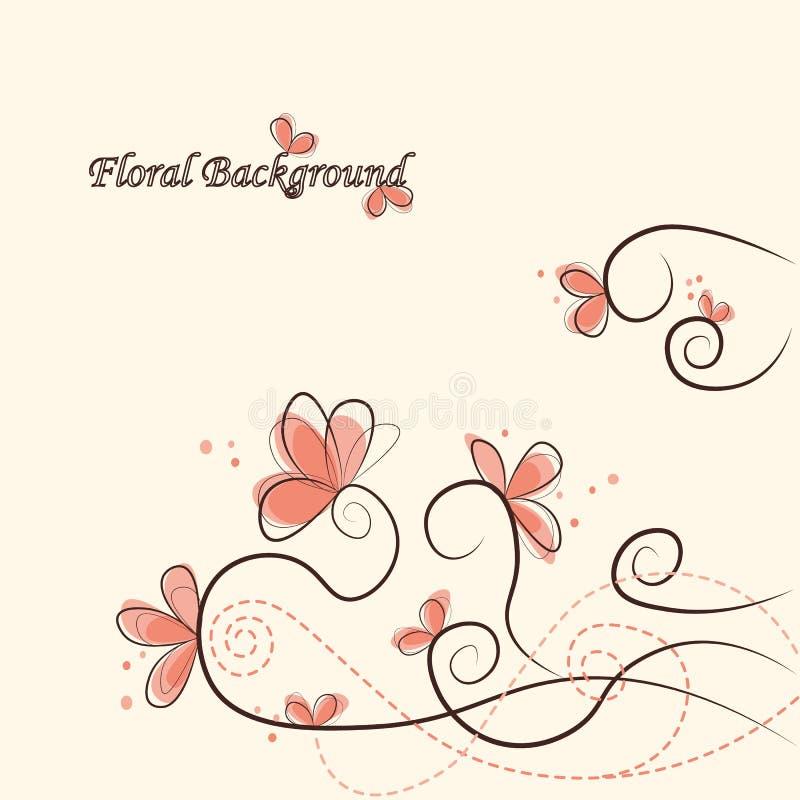 Fond floral mignon photo stock