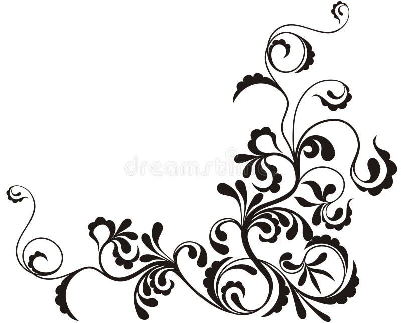 Fond floral ornemental illustration libre de droits
