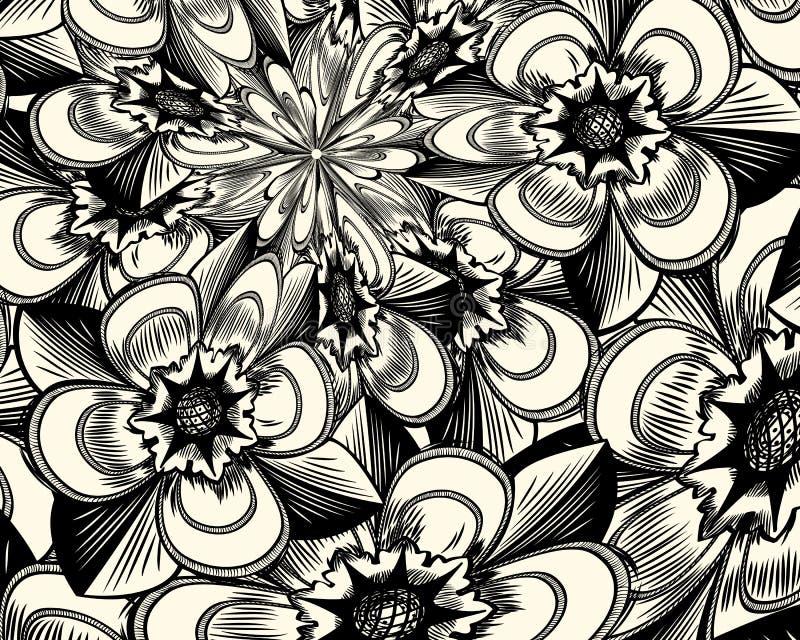 Fond floral sale illustration stock