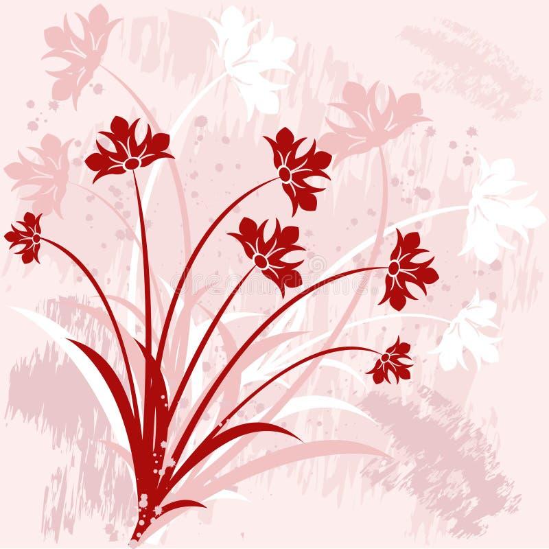 Fond floral - vecteur illustration stock