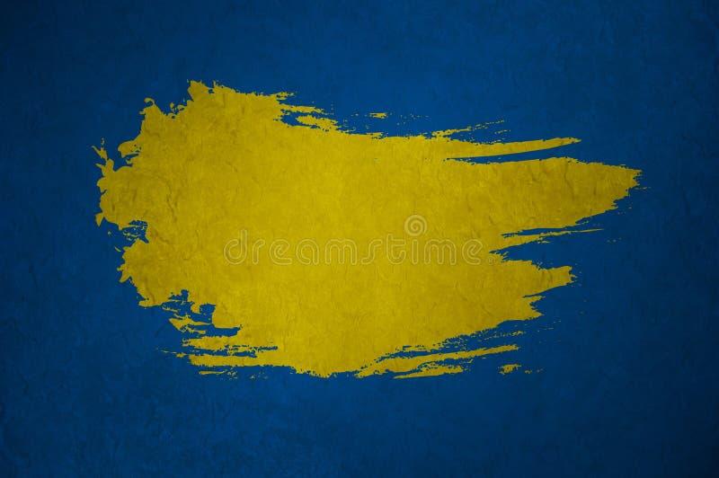 Fond foncé bleu illustration libre de droits