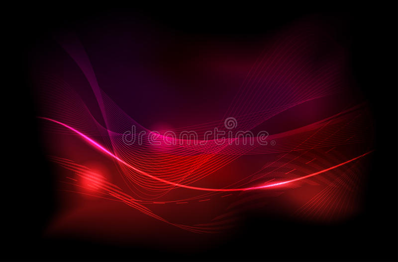 Fond foncé/brillant abstrait illustration stock