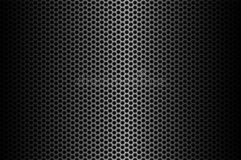 Fond foncé de fibre de carbone, illustration courante de vecteur illustration libre de droits