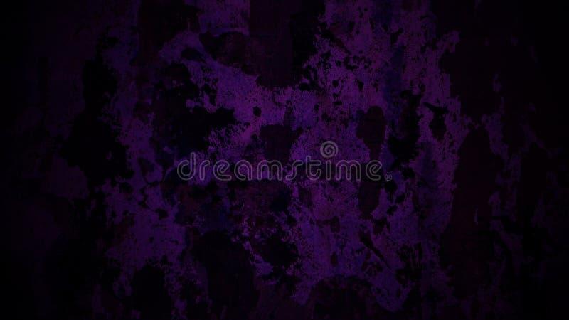 Fond foncé de peau de vache dans la lumière violette image libre de droits