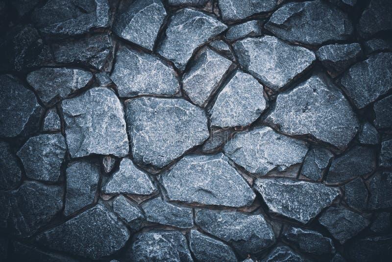 Fond fonc? de mur en pierre Texture grunge grise abstraite Surface noire de granit, plancher Modèle naturel pour la conception d' images libres de droits