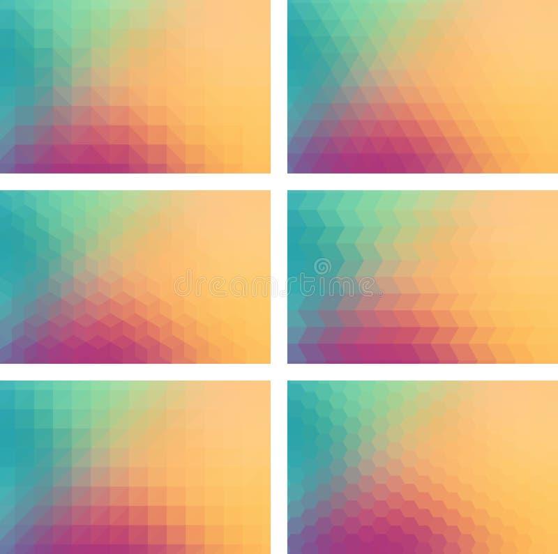 Fond géométrique photo libre de droits