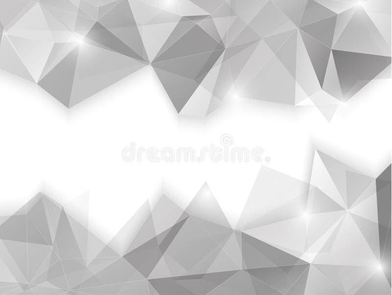 Fond géométrique abstrait illustration stock