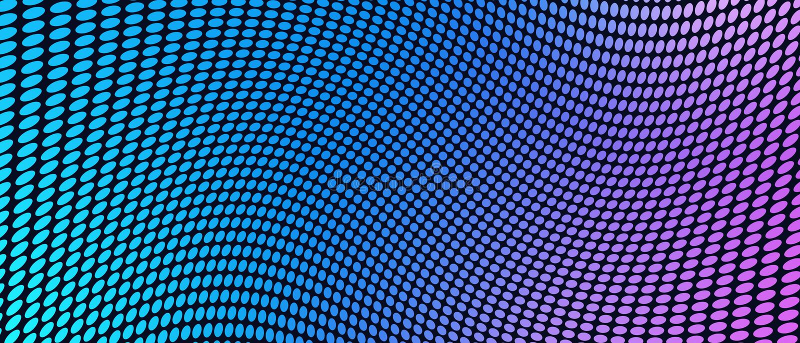 Fond géométrique abstrait avec l'effet de déformation illustration libre de droits