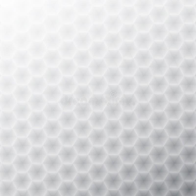 Fond géométrique abstrait blanc. + EPS8 illustration libre de droits