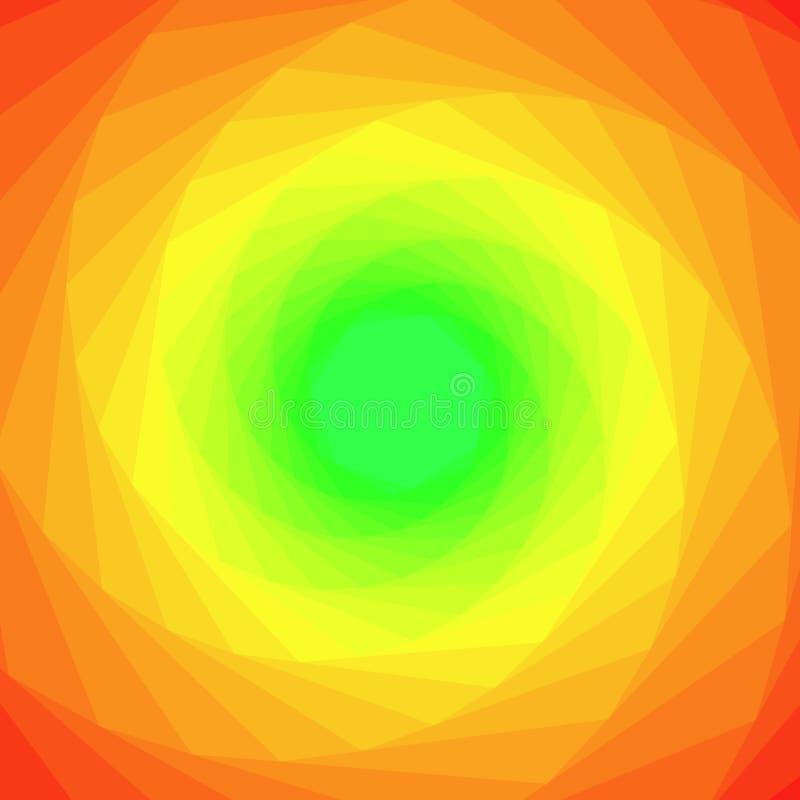 Fond géométrique abstrait coloré illustration de vecteur