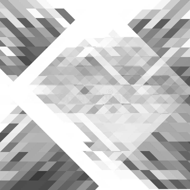 Fond géométrique abstrait de formes Modèle futuriste de polygone Pour l'usage comme fond de page Web, bannière, affiche illustration stock