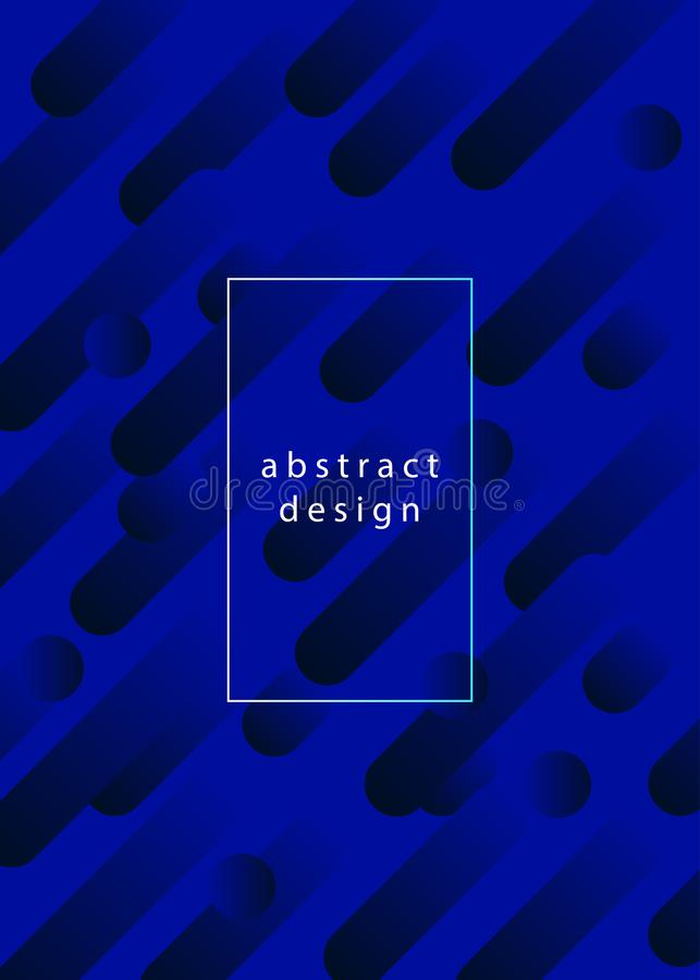 Fond géométrique abstrait de gradient illustration de vecteur