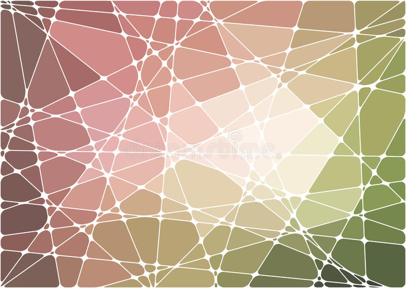 Fond géométrique abstrait de mosaïque illustration libre de droits