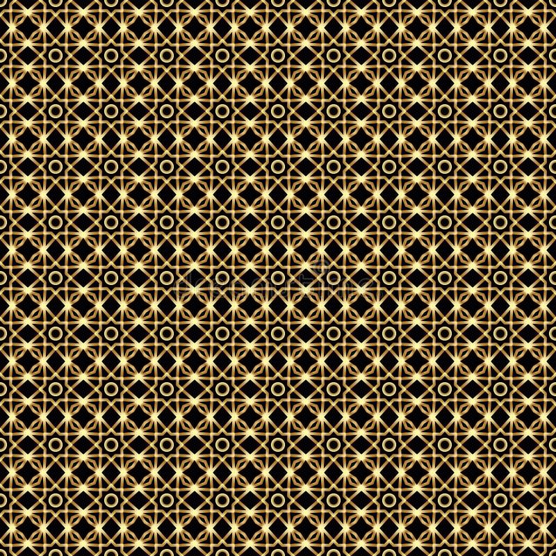 Fond géométrique abstrait de vecteur avec l'ornement ethnique illustration libre de droits