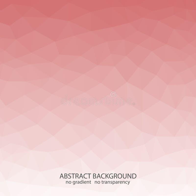 Fond géométrique abstrait de vecteur Conception polygonale Répétition de la composition illustration stock
