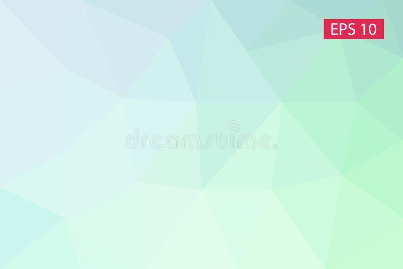 Fond géométrique abstrait, des polygones, fond de triangle, illustration, modèle, calibre triangulaire illustration de vecteur