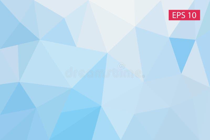 Fond géométrique abstrait, des polygones, triangle, illustration, modèle, calibre triangulaire, géométrique illustration stock