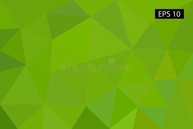 Fond géométrique abstrait, vecteur des polygones, triangle, illustration de vecteur, modèle de vecteur, calibre triangulaire illustration stock