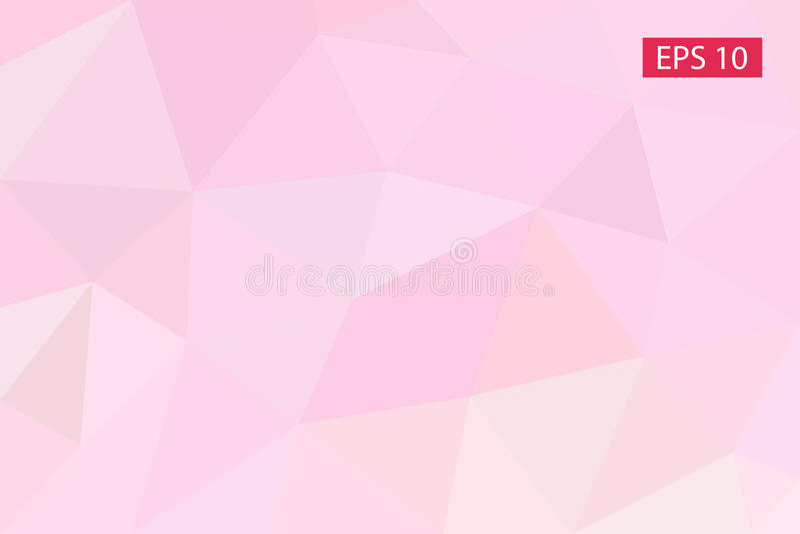 Fond géométrique abstrait, vecteur des polygones, triangle, illustration de vecteur, modèle de vecteur, calibre triangulaire illustration de vecteur