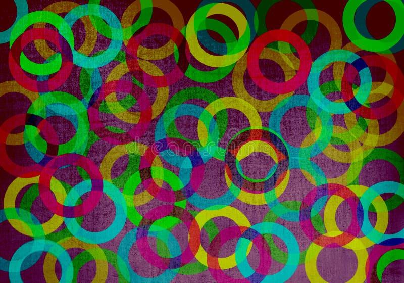 Fond géométrique avec des cercles photos libres de droits