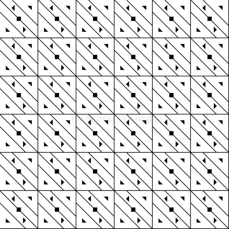 Fond géométrique avec des formes illustration stock